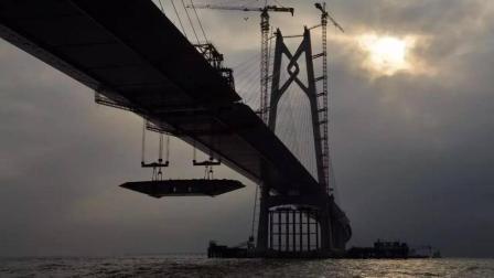 中国超级工程问世, 全球最宽吊打美国航母, 建设难度让西方咋舌