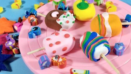 灵犀小乐园之美食小能手 夏季水果雪糕 夏季水果雪糕