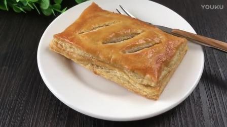 怎样做烘焙蛋糕视频教程 千层肉松派的制作方法 君之烘焙视频教程蛋糕