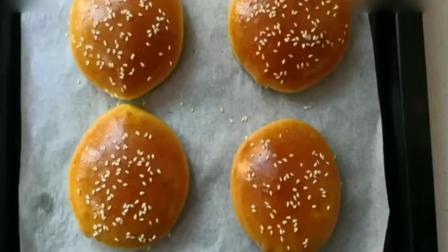 大厨教你在家如何自制汉堡包, 绝对比外边买的更营养美味又健康