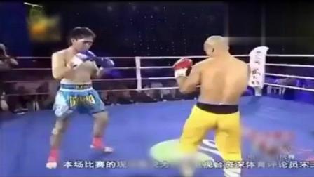 日本选手带4个持刀小弟, 一龙照样打的他跪地不起