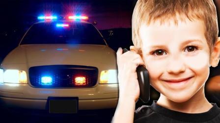 美6岁男孩目睹老爸闯红灯后居然报警, 网友: 这娃绝对不是亲生的