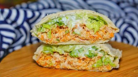 美味又低卡的金枪鱼口袋三明治, 不开火零难度, 春季懒人瘦身必备