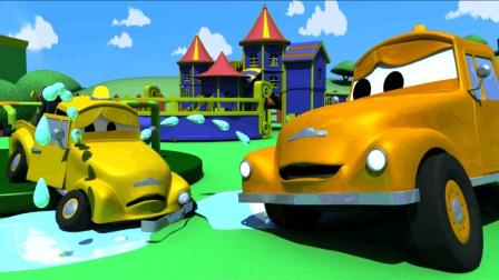 汽车城之拖车汤姆 第43集 宝贝们的事故