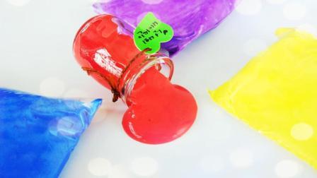 最简单的无硼砂无胶水史莱姆, 2种材料, 5毛钱成本