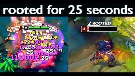 【英雄联盟】诡术妖姬 - 乐芙兰 技能重做后的25秒禁锢及伤害BUG! 这禁锢我可以笑一天!