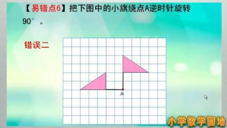 苏教版四年级数学 第一单元平移和旋转的易错题讲解 小学数学微课