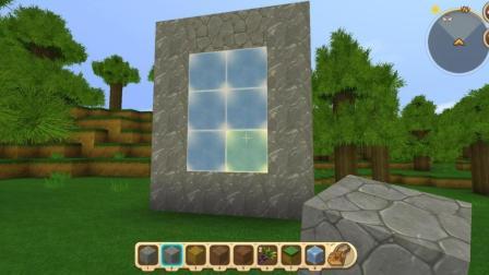 迷你世界如何打造一座传送门