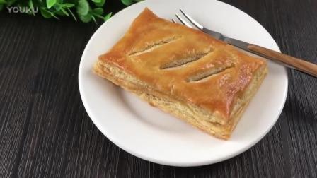 蛋糕烘焙视频教程 千层肉松派的制作方法 烘焙蛋黄的做法视频教程