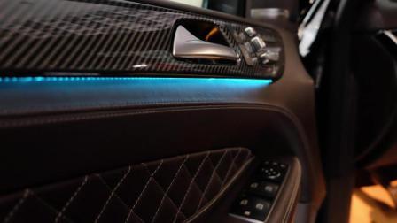 奔驰GLS550霸气与豪气并存, 打开车门后不再考虑路虎揽胜