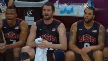 太可怜了! 好好的奥运会被梦十硬生生的变成扣篮大赛