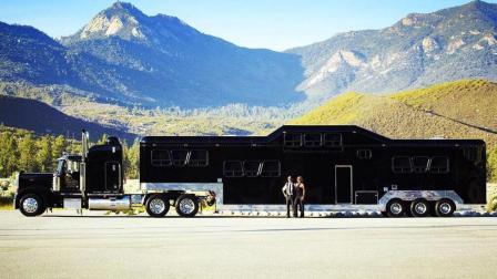 老外花费1600万, 打造全球最大房车, 每小时六千订单无空挡