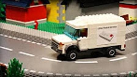 乐高的邮递员-Lego乐高城市小电影-儿童故事剧场★傲仔小天地★