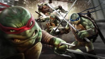 会高科技, 会极限运动, 会战斗, 会拯救世界, 这四只乌龟全是优点