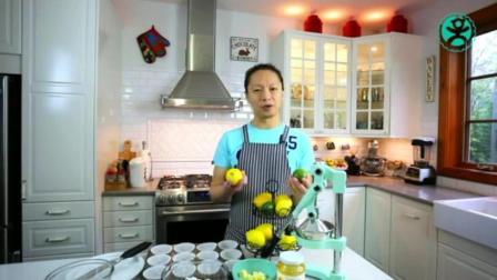 蛋糕制作教程 考蛋糕的做法 烤箱戚风蛋糕的做法