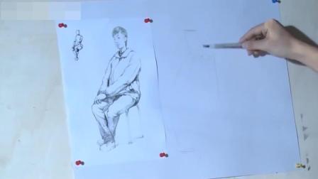 设计素描动漫素描教程图解, 光影素描入门第13课, 路飞素描教程建筑风景速写