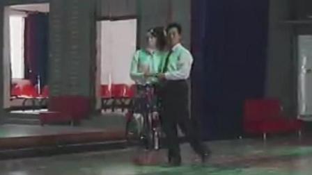 福州交谊舞艺术 慢四基本步《忘情水》经典