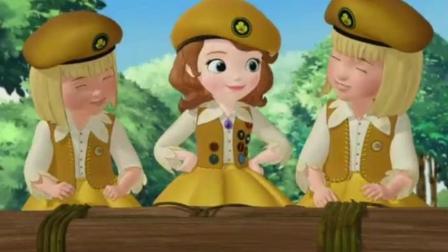小公主苏菲亚全集: 用自己的行动得到了属于自己的徽章, 真勇敢