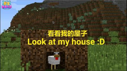 我的世界动画:如果怪物们也会造房子
