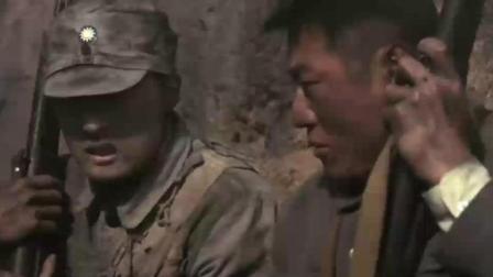 国民党军在正面战场, 受到日军猛烈的攻击, 跟他们战到底