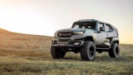 一张图看清, 17万美金的美国制造商Rezvani推出野兽级的SUV Tank, 完全Jeep牧马人打造!