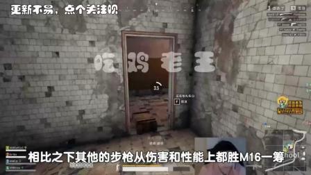 绝地求生: 韦神直播大吐槽, 不能开全自动8倍镜? 或成最垃圾步枪