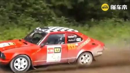 WRC赛车比赛失误瞬间, 这个比赛可不容易啊, 小心命都没了