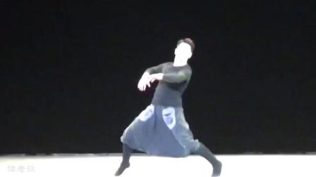 浙歌藏族帅小伙巴顿的一段蒙古舞, 帅气十足!