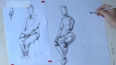怎样画油画素描教程几何图形, 7岁速写教程, 素描教程王彦发速写照片