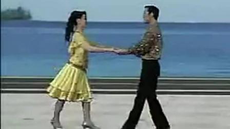 规范交谊舞 北京恰恰 杨艺老师跳的很流畅, 漂亮!