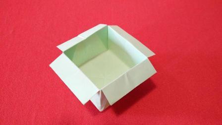儿童折纸视频教程, 手工折纸如何折简单的盒子教程, 美兰儿童折纸大全