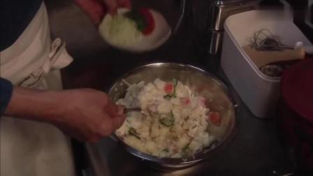 深夜食堂: 土豆沙拉, 令人怀念的味道, 美味低脂大人孩子都爱吃!