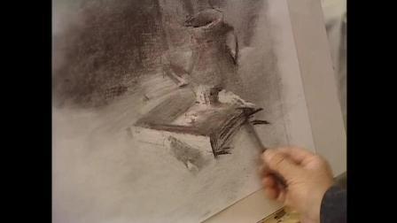 手绘油画素描教程文件包, 素描入门第七课, 照片色彩教程视频素描培训