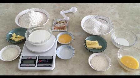 烘焙教程图解_烘焙视频棉花糖草莓杯子蛋糕_纸杯蛋糕配方
