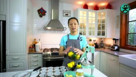 怎么烤蛋糕用烤箱烤 戚风蛋糕最佳配比 家庭制作蛋糕