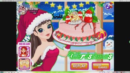 【蛋糕】: 甜蜜圣诞蛋糕