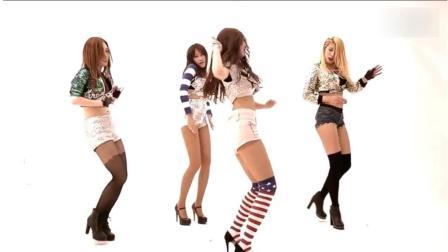 美女短裤动感热舞