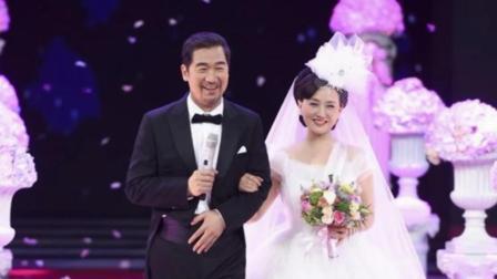 张国立邓婕重温婚礼场面 戴婚戒亲额头甜蜜值爆表