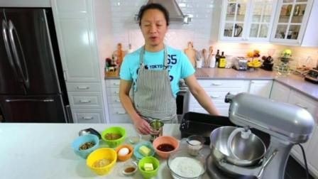 制作蛋糕的方法和材料 蛋糕烤多久温度多少 生日蛋糕制作视频