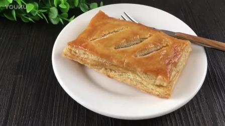 烘焙食品制作教程视频下载 千层肉松派的制作方法 君之烘焙饼干视频教程