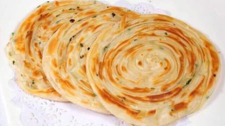 这样烙出来的葱油饼, 层层酥脆香! 做法简单, 比外面买的好吃百倍!