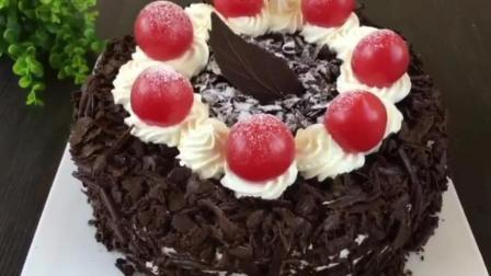 怎么做烤蛋糕 各种蛋糕的做法 正规的西点培训学校