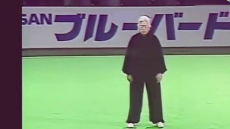 90岁中国老太在日本表演中国功夫, 看得日本人惊叹不已!