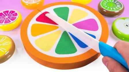 百变创意DIY彩虹橙蛋糕, 培养宝宝想象力激发创造力!
