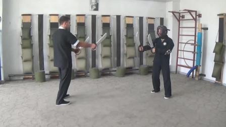残暴的咏春拳八斩刀演示, 正统的咏春功夫, 值得一练