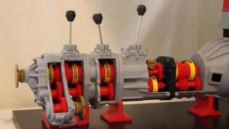 3D打印日本某名牌汽车4WD传输系统模型