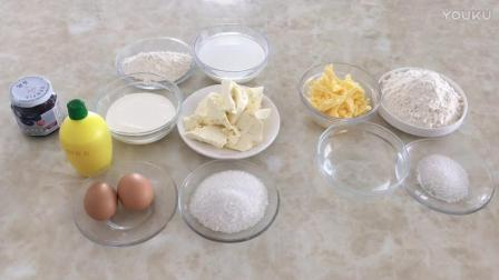 烘焙海绵蛋糕的做法视频教程 蓝莓乳酪派的制作方法 烘焙蛋糕八寸视频教程