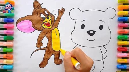 幼儿绘画学习: 宝宝喜欢的动画卡通人物简笔画
