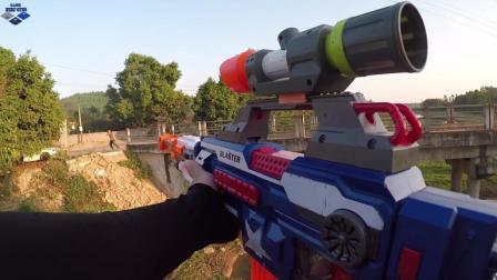 搞笑视频, 看小伙野外秀枪法