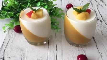 深圳多仕教育烘焙教程 双色慕斯杯的制作方法 diy蛋糕烘焙视频教程